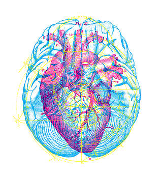 Heart Brain by Gary Grayson