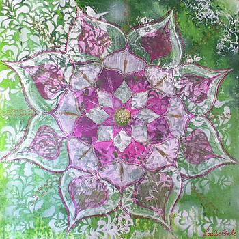 Heart Chakra Mandala by Louise Gale