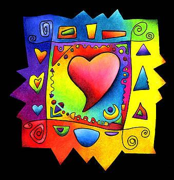 Heart Colorwheel by Terry Medaris
