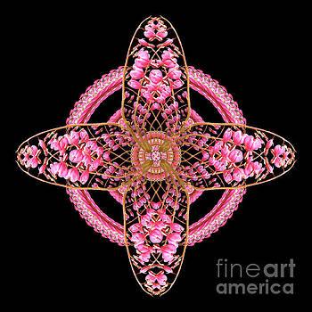 Heart Cross Window by Karen Jordan Allen