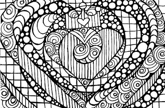 Nada Meeks - Heart Crown Tangle