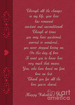 Heart Deco Valentine by JH Designs