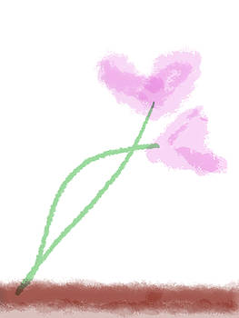 Bill Owen - heart flowers