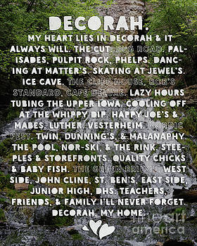 Heart Lies In Decorah Iowa Dunning's Springs by Kari Yearous