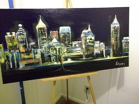 Heart of Atlanta by Mark Givens