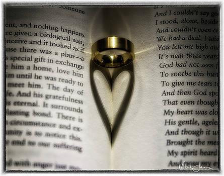 Heart Ring Framed by Mitch Johanson