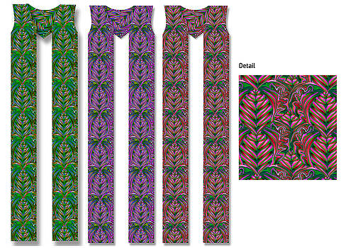 Hearts Clergy Stole by Julie Rodriguez Jones