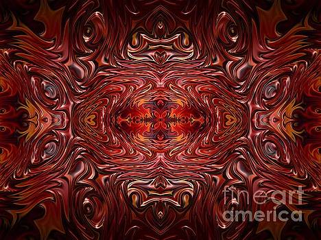 Rose Santuci-Sofranko - Hearts Fire Storm of Love Fractal Abstract