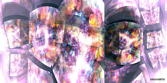 Hearts in bloom by Marisa Gabetta