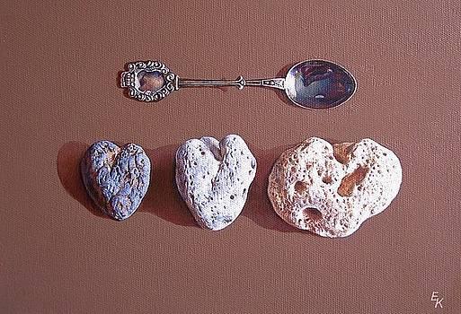 Hearts of Three by Elena Kolotusha