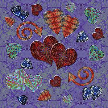 Sue Duda - Hearts on Lavendar