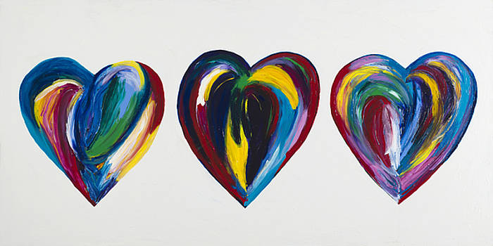 Hearts Trio by Megan Morris Collection