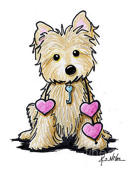 Heartstrings Cairn Terrier by Kim Niles