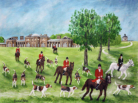 Heaton Hall, Park and Temple by Ronald Haber