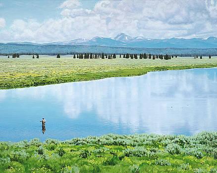 Heaven Is A River In Idaho by Dan Price