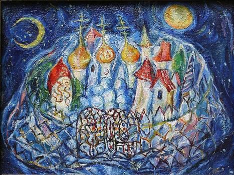 Heavenly city by Natalia Slovinskaya