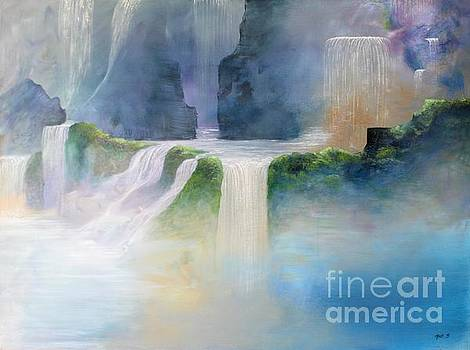 Heavenly Falls by Mark Beach