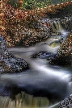 Heavenly Falls Shadow by Brad Walters