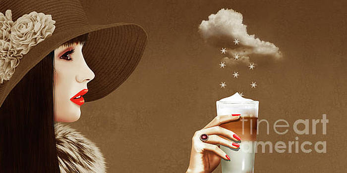 Heavenly Latte Macchiato by Monika Juengling