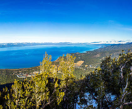 Heavenly South Lake Tahoe View 1 - Right Panel by G Matthew Laughton