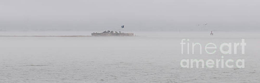 Dale Powell - Heavy Fog over Castle Pinckney