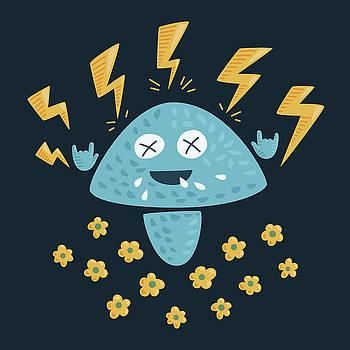 Heavy Metal Mushroom by Boriana Giormova