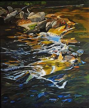 Heber Downs - Lynde  Creek Oct 2008 by Margaret Farrar