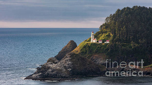 Heceta Head Lighthouse by Jerry Fornarotto