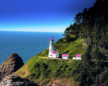 Heceta Head Lighthouse by John Heywood