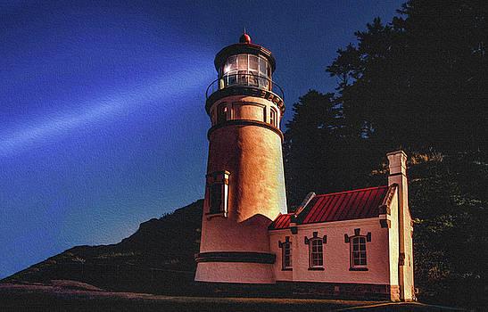 Heceta Head Lighthouse by Joy McAdams