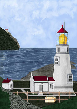Heceta Head Oregon by Anne Norskog