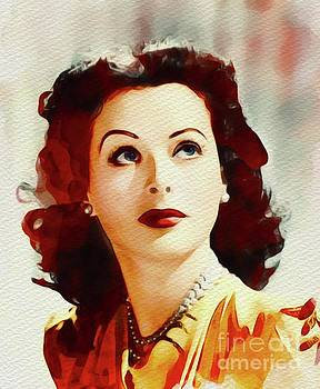 John Springfield - Hedy Lamarr, Vintage Movie Star