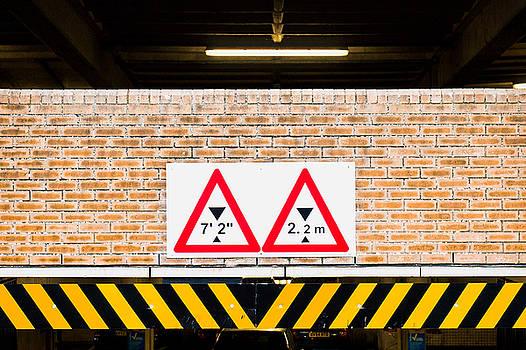 Height warning by Tom Gowanlock