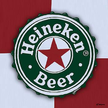 Heineken Bottle Cap by Jeff Montgomery