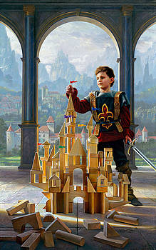 Heir to the Kingdom by Greg Olsen