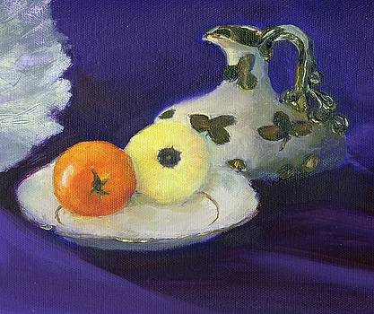 Heirloom tomatoes by Aletha Jo Lane
