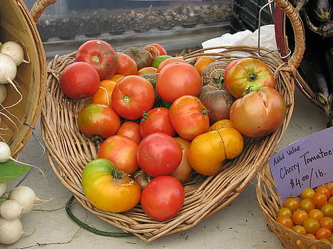 Heirloom Tomatoes by Hasani Blue