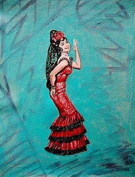 Usha Shantharam - Helen in Teesri Manzil