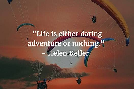 Helen Keller Quote by Matt Create
