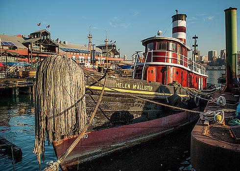 Helen McAllister tugboat by Alida Thorpe