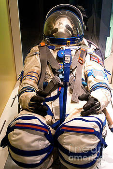 Helen Sharman's spacesuit by Science Photo Library