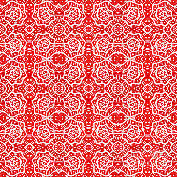 Helices in Red and White by Julia Khoroshikh