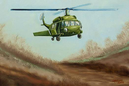 Helicopter by Charles Sims