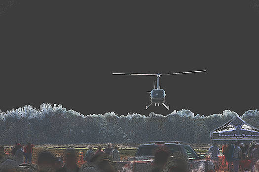 Karol Livote - Helicopter Lift