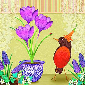 Hello Spring by Valerie Drake Lesiak