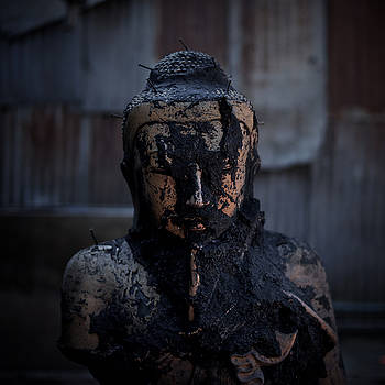 Hellraiser Buddha by Lucas Dragone