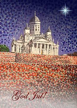 Alan Hogan - Helsinki Cathedral - God Jul - Swedish greeting