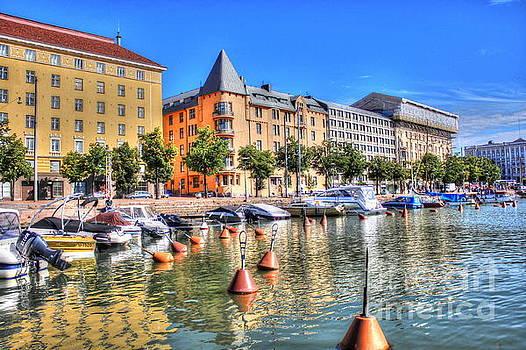 Helsinki Finland summer by Yury Bashkin