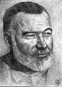 Hemingway by Dan Moran
