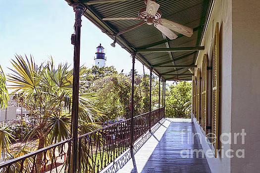 Hemingway House Balcony by Catherine Sherman